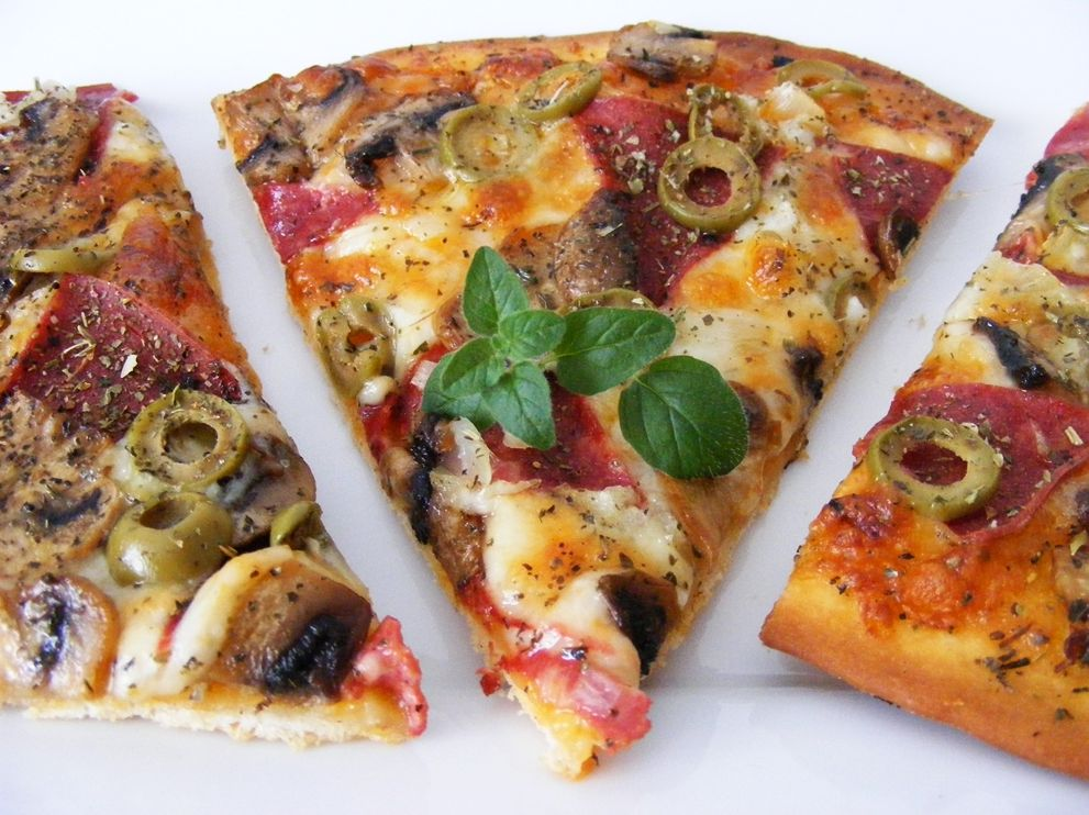 pizza na cienkim cieœcie
