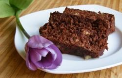 czekoladowe ciasto bez mąki i cukru